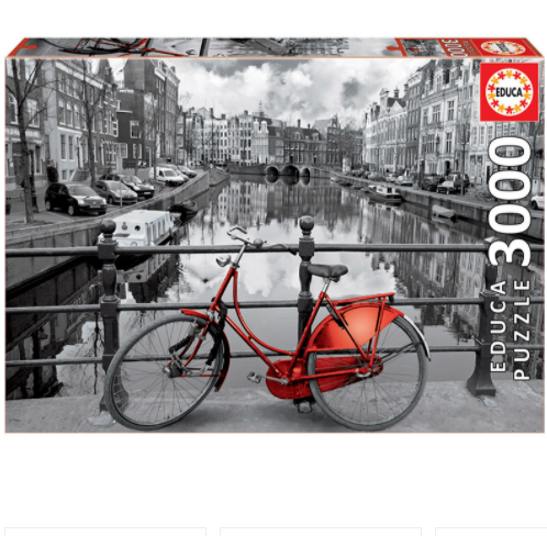 Amsterdam, Netherlands - 3000 Pieces Puzzle