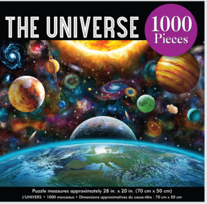ADULT JIGSAW PUZZLE THE UNIVERSE 1000 PIECE