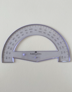 Protractor 180 Degree 15cm Faber Castell