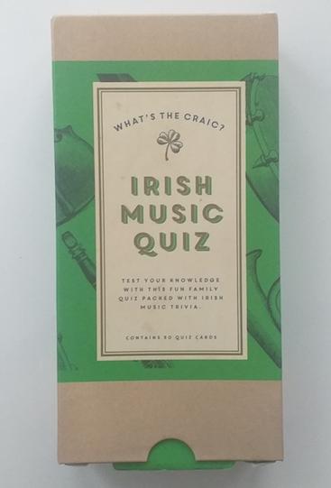 QUIZ IRISH MUSIC  - WHATS THE CRAIC?