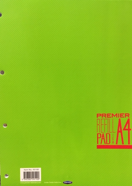 A4 Refill Pad 160 Page Premier
