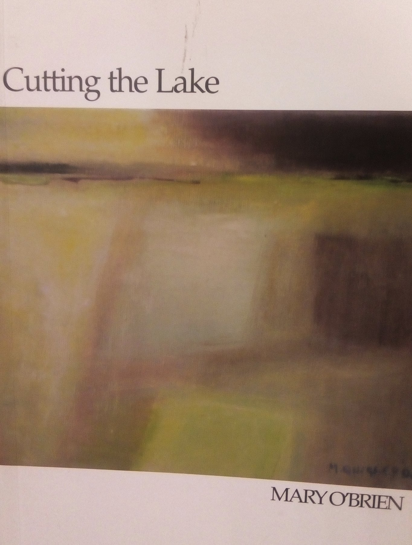 Cutting the Lake by Mary O'Brien