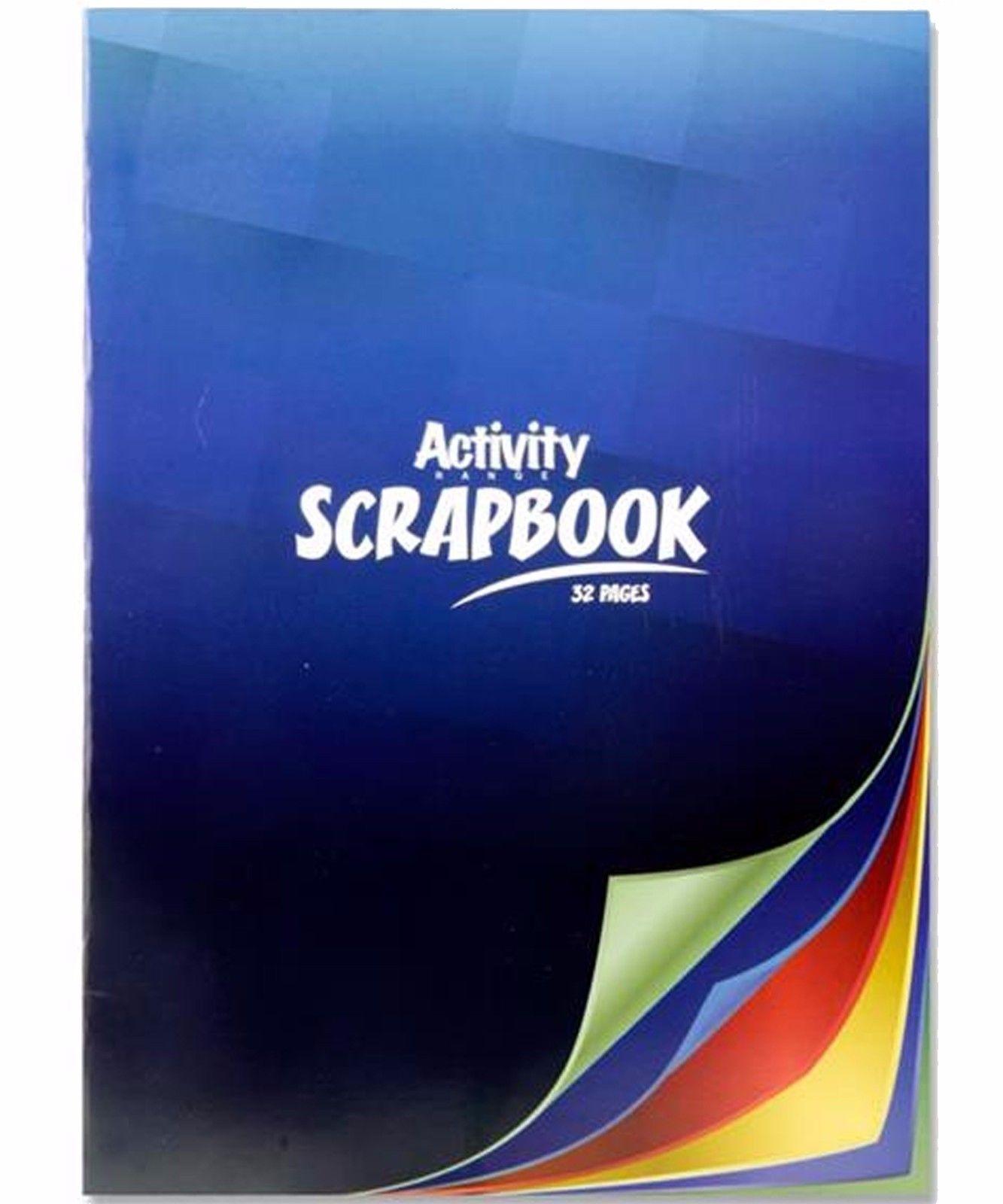 A4 Activity Scrap Book 32pg