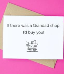 Grandad Shop - Irish Made Card