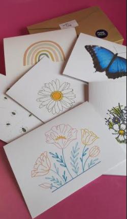 Irish Made  Notelets Pack of 6