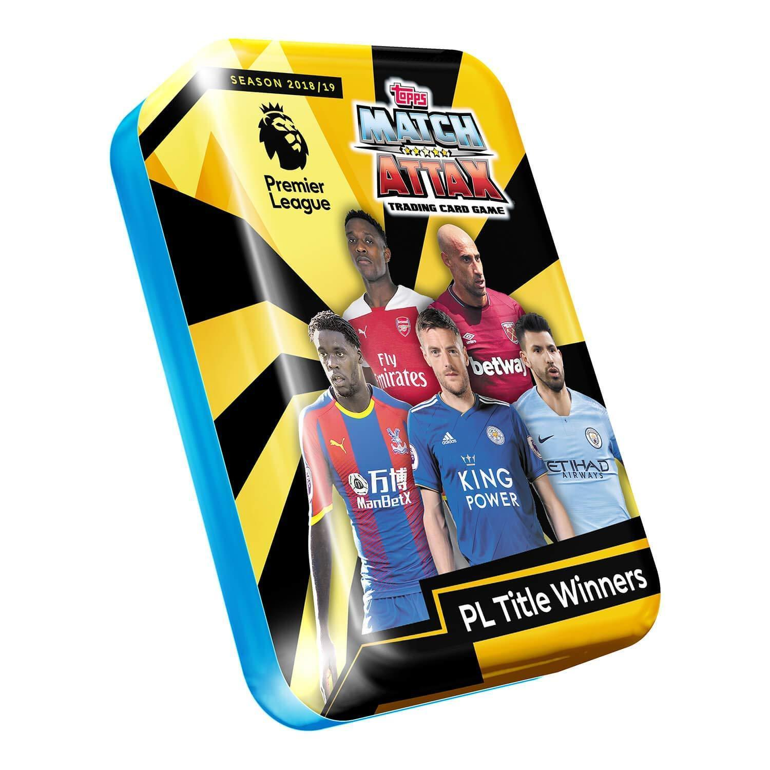 Match Attax 2018/19 Trading Card Game International Stars Mega Tin