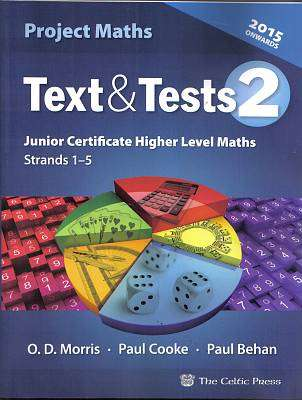 Text and Tests 2 Higher Level Jc 2014+